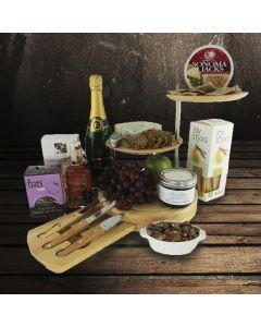 Lake Rosseau Champagne and Cheese Board