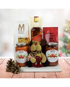 Italy's Christmas Eve Pasta Gift Set With Whiskey