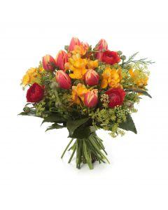 Warmth & Passionate Resolve Bouquet