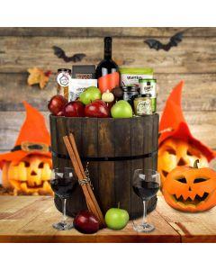 Bobbing for Apples Halloween Gift Basket