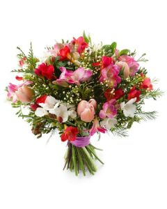 The Fragrant Freesia Bouquet