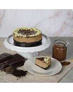 Chocolate Cheesecake With Hazelnut Spread