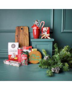 Christmas Cookies & Treats Basket