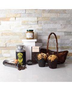 Morning Glory Coffee & Muffins Basket