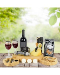 Chocolate Golf Balls & Wine Gift Set