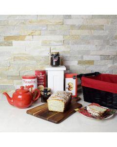 Tea, Cookies & Cake Gift Basket