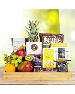 Delightful Fruit & Snack Basket
