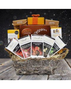 Lindt's Excellence Gift Basket