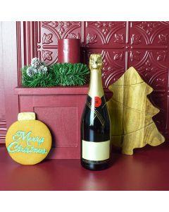 Christmas Champagne Basket