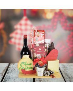 Santa's Sleigh of Treats with Liquor