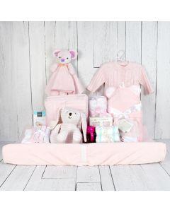 LUXURY COMFORT SET FOR THE BABY GIRL