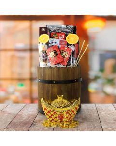 Everlasting Fortune & Festive Wishes Gift Basket