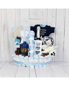 Cuddly Baby Champagne Gift Set
