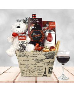 """""""With Love From Paris"""" Gift Basket"""