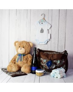 BABY BOY'S FIRST OUTING GIFT SET
