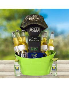 Corona and Sunshine Gift Basket