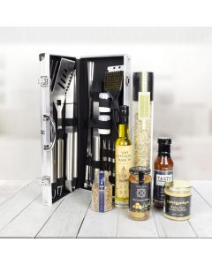 Deluxe Barbeque Tool Gift Basket
