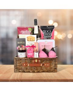 THE PINK PEAR GIFT BASKET