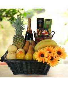 Great Harvest Champagne Gift Basket