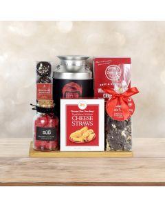 Christmas Coffee & Treats Gift Basket