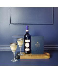 Wine and Chocolate Mitzvah Gift Set