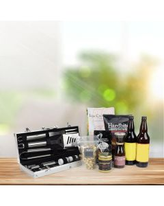 Barbeque Beer Gift Basket