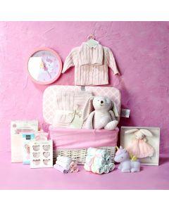 BABY GIRL BEDROOM & PLAYSET