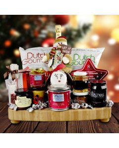"""The """"Let it Snow"""" Luxury Christmas Gift Board"""