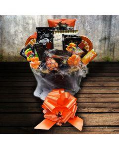 The Cobwebbed Cauldron Halloween Gift Basket