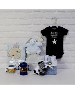 THE BABY BOY LITTLE STAR GIFT SET
