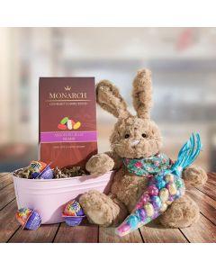 Baby Bunny Easter Sweets Basket