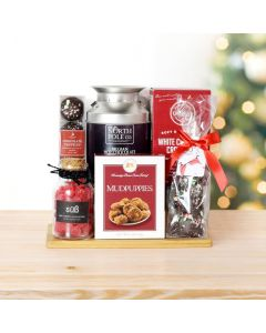 Christmas Hot Chocolate & Treats Basket