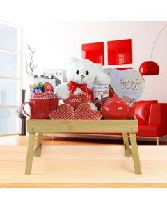 Warm Cuddles Tea Gift Basket