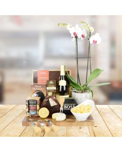 Spectacular Gourmet Treats & Wine Set