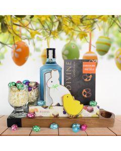 Easter Liquor & Chocolate Basket