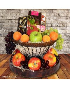 The Burnaby Fruit & Chocolate Fruit Basket