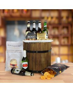 The Oktoberfest Custom Beer Keg Gift Basket