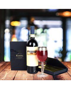 Bruges Book & Wine Gift Set
