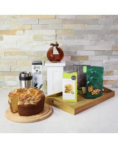 On the Go Coffee & Cake Gift Set