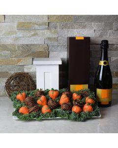 Pumpkin Patch & Champagne Gift Set