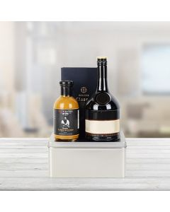 Elegant Luxuries Trio with Liquor