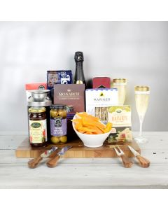 All A Board! Champagne Gift Basket