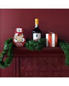 Polarizing Christmas Wine Gift