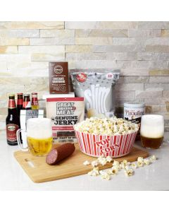 Just Because Snack Night Gift Basket