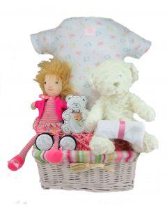 Jelle Belle Baby Girl Gift Basket