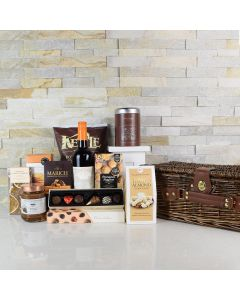 SPEND A DAY WITH GOURMET GIFT BASKET