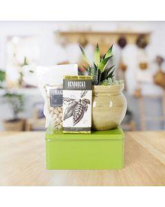 Gourmet & Green Gift Basket