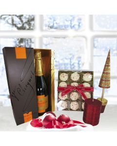 """Z Peppermint Cookies Gift Pack with Champagne"