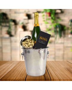 Champagne Bucket with Chocolate