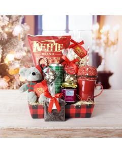 It's Christmastime Snacking Basket